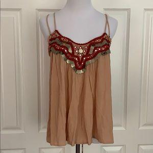 Sequin embellished Cami Blouse